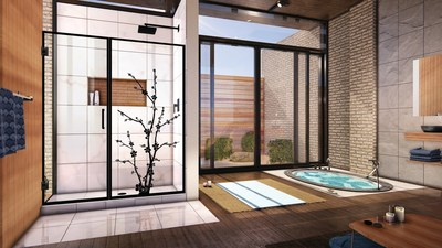 Dreamline Creates A Spa Inspired Shower Door And Submits