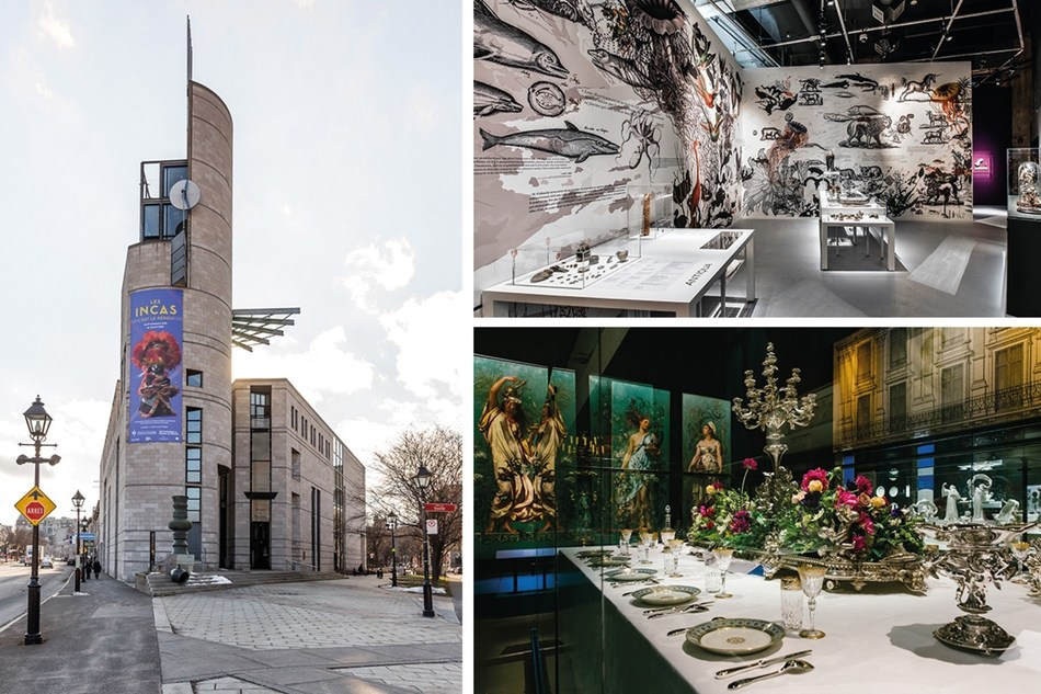Pointe-à-Callière, Montréal Archaeology and History Complex, drew 504,793 visitors over the past year, making 2019 the second busiest year in the Museum's history. (CNW Group/Pointe-à-Callière, Montreal Museum of Archaelogy and History)