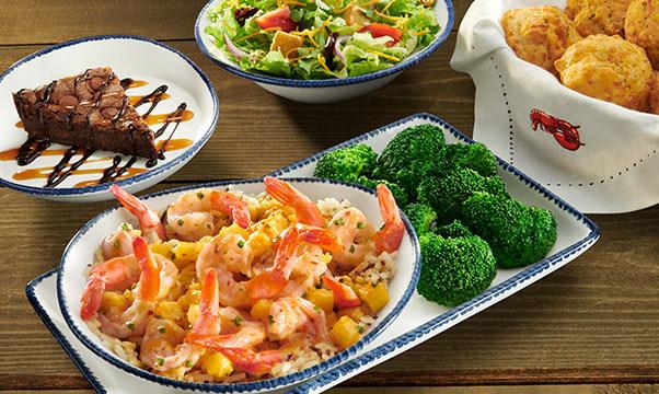 Introduces New 3 Course Shrimp Feast