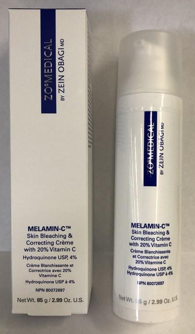 ZO Medical Melamin-C Skin Bleaching & Correcting Crème with 20% vitamin C (CNW Group/Health Canada)