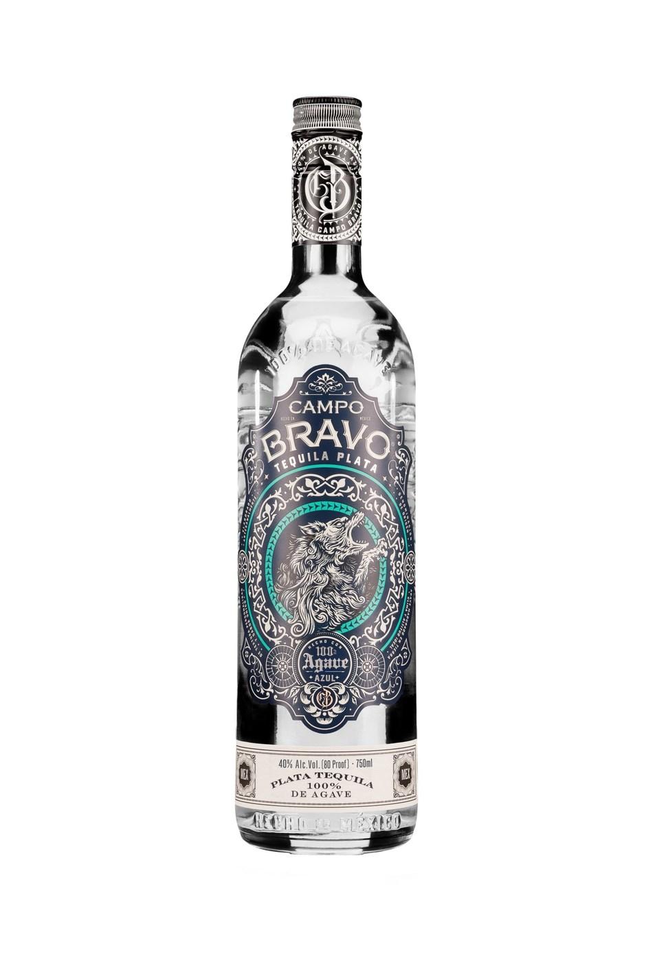 Campo Bravo Plata Bottle.