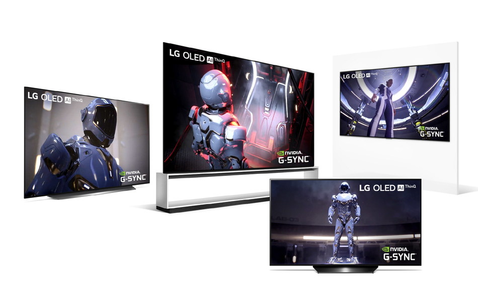 As the first TV manufacturer to offer NVIDIA G-SYNC® Compatibility, LG is expanding this capability in 2020 to 12 OLED TVs to provide a flawless PC gaming experience without screen tearing or other distracting visual artifacts.