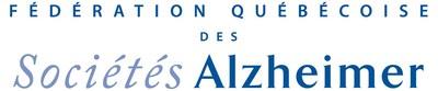 Logo : Fédération québécoise des Sociétés Alzheimer (Groupe CNW/Fédération Québécoise des Sociétés Alzheimer)