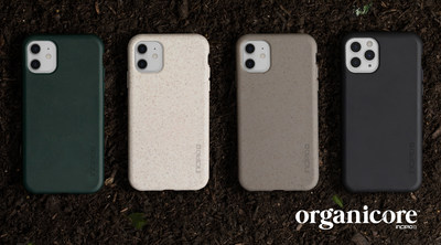 Incipio Organicore Collection of 100% Compostable Cases for iPhone 11, iPhone 11 Pro and iPhone 11 Pro Max