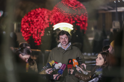 Kakha Kaladze, Mayor of Tbilisi (Photographs by Davit Tabagari)