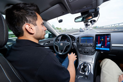 By the end of 2020, ZF's coASSIST Level 2+ Automated Driving system – here a prototype – will be available for a price at well under $1,000 dollars.