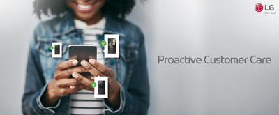 LG Electronics USA introduced LG Proactive Customer Care – an industry-first personalized customer support innovation for smart home appliances – at CES® 2020. Powered by artificial intelligence (AI), the new tool improves product performance and longevity proactive care, and offers an enhanced service experience specifically tailored to each customer.