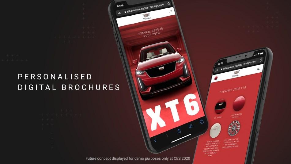 Personalised Digital Brochures Created by ZeroLight