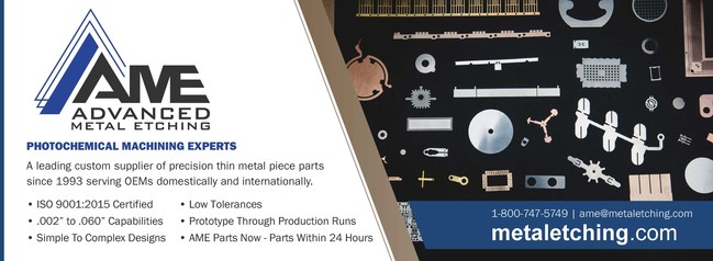 Advanced Metal Etching