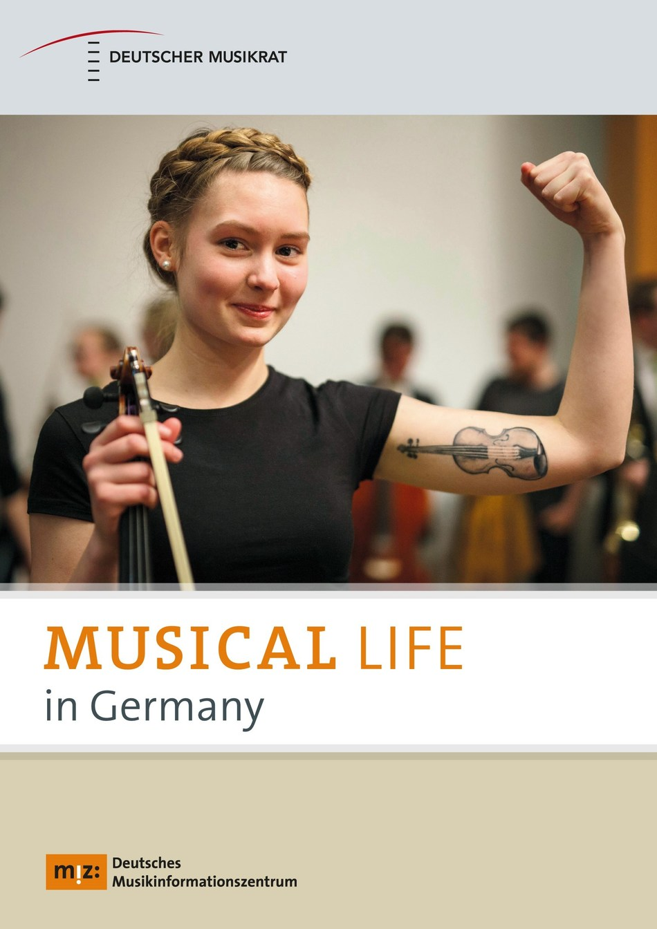 Front cover of Musical Life in Germany, © 2019 German Music Council / German Music Information Centre. (PRNewsfoto/German Music Information Centre)