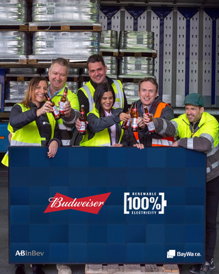 AB InBev and BayWa r.e. celebrate biggest ever Pan-European corporate solar power deal to brew Budweiser with 100% renewable electricity