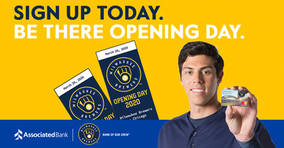 Associated Bank Brewers™ Checking offers fans exclusive Miller Park benefits.