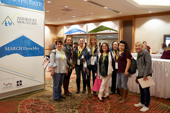 Early Childhood Professionals Participating in RMECC 2019. Denver, CO.