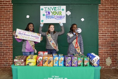 The 2020 Girl Scout Cookie season launched nationally today, when Girl Scouts across the United States become entrepreneurs, using their cookie earnings to power their own leadership experiences and adventures. This year Girl Scouts debuts refreshed cookie packaging and a new lemon cookie available in select areas, so visit www.girlscoutcookies.org to find Girl Scouts selling cookies near you.