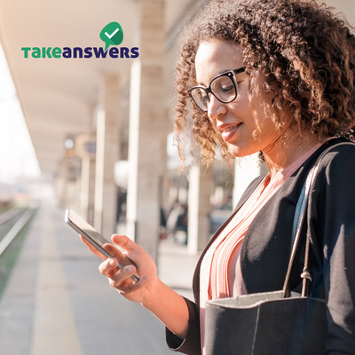 Take Answers is a consultancy app where advice seekers and verified experts work together for a better future