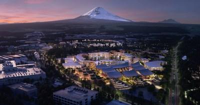 """Toyota da a conocer sus planes para construir un prototipo de """"ciudad"""" del futuro llamada Woven City (Ciudad Tejida), un ecosistema totalmente conectado alimentado por celdas de combustible de hidrógeno (PRNewsfoto/Toyota Motor North America)"""