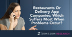 Zion & Zion Study Examines Consumers' Frustrations with Restaurant Delivery Apps