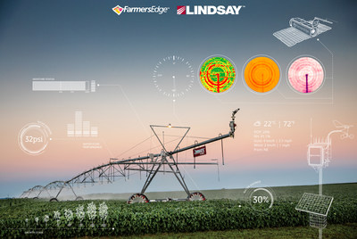Lindsay and Farmers Edge announced a plan to connect and digitize two million irrigated acres by the end of 2021. The companies will integrate their digital platforms to provide their growers and dealer networks with a first-of-its-kind, fully connected crop management solution.