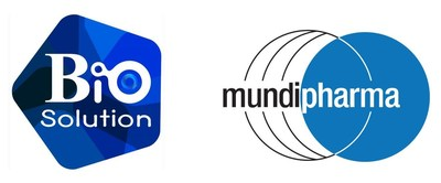 Biosolution Co., Ltd and Mundipharma Logo