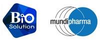 Biosolution Co., Ltd and Mundipharma Logo