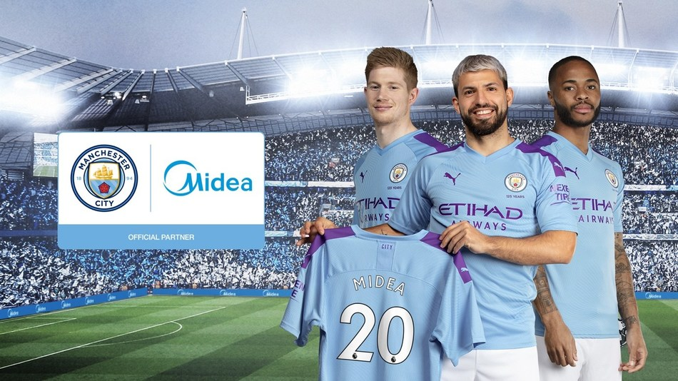 Manchester City Announces New Global Partnership With Consumer Appliances Giant Midea