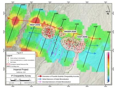 Figure 4 – Magnetic Survey Interpretation (CNW Group/Kore Mining)