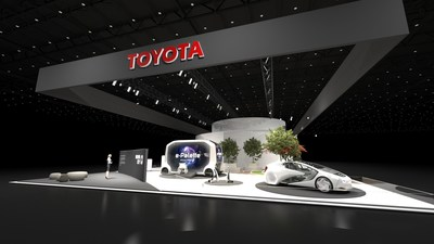 "At CES 2020, Toyota is providing a glimpse into this future via a 360-degree immersive experience of the ""Woven City."""