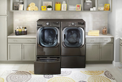 Winner of a coveted 2020 CES Innovation Award, the new LG ThinQ™ front-load washing machine features an Artificial Intelligent Direct Drive™ (AI DD) motor along with the company's AI-powered Proactive Customer Care service.