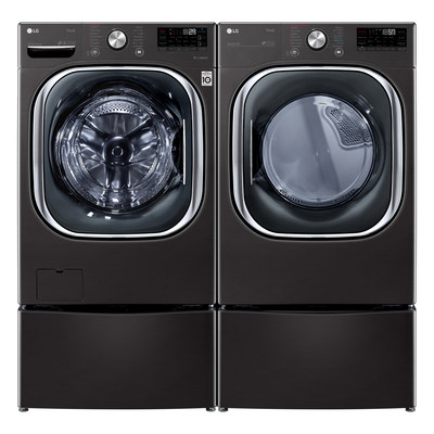 LG's new washing machine not only detects the volume and weight of each unique laundry load, but also uses AI and advanced sensors to identify fabric types in each load.