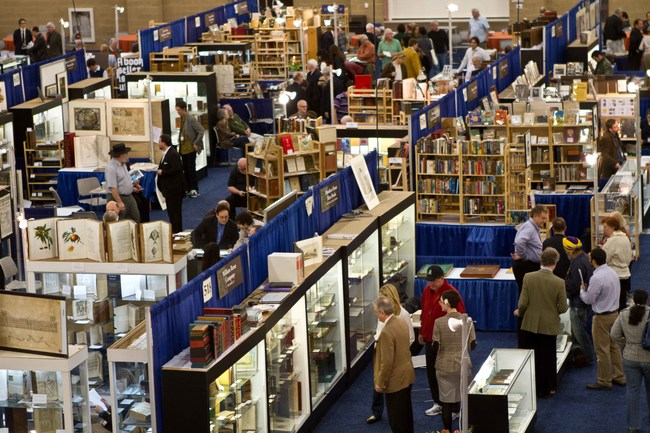 Pop-up shops from the world's foremost rare book dealers at the California International Antiquarian Book Fair.
