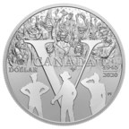 Royal Canadian Mint Celebrates 75th Anniversary of V-E Day on 2020 Proof Silver Dollar
