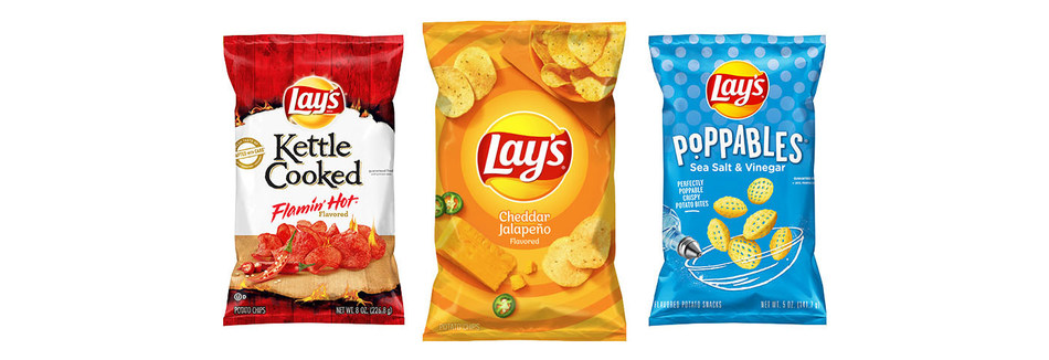 As Lay's kicks off its nationwide search, the brand is doing its part to spread even more joy to flavor fans across the country by introducing three new chip flavors across its entire portfolio this January: Lay's Cheddar Jalapeño, Lay's Poppables Sea Salt & Vinegar, and Lay's Kettle Cooked Flamin' Hot.