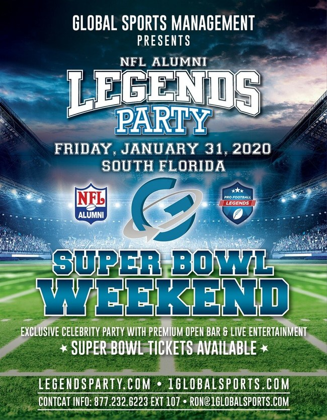 The NFL Alumni Legends Party