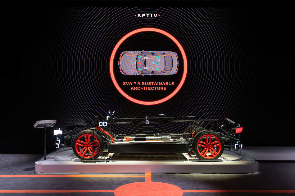 Aptiv Unveils Smart Vehicle Architecture™ at CES 2020. SVA™ is a modern, sustainable vehicle architecture that enables automakers to improve safety, increase vehicle efficiency, and deliver the intelligently connected, software-defined experiences consumers want.