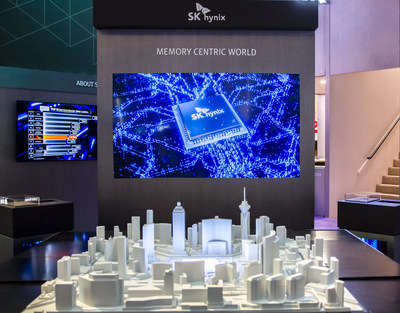 CES 2020: SK hynix Displays its Semiconductor Technologies Leading the 4th Industrial Revolution