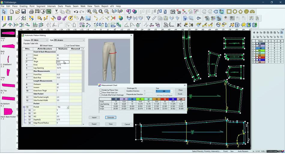 Tukatech Automatic Pattern Making (APM) System (PRNewsfoto/Tukatech)