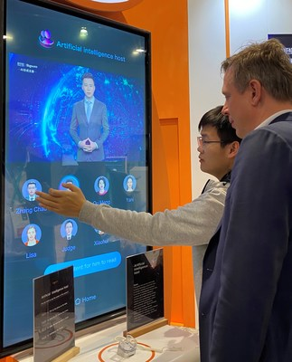 Sogou showcases its AI Vocational Avatar at CES 2020