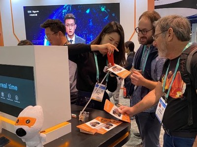 Sogou's AI-powered devices on display at CES 2020