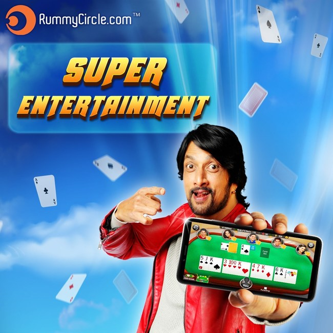 RummyCircle.com onboards south-Indian superstar Kichcha Sudeep as Brand Ambassador