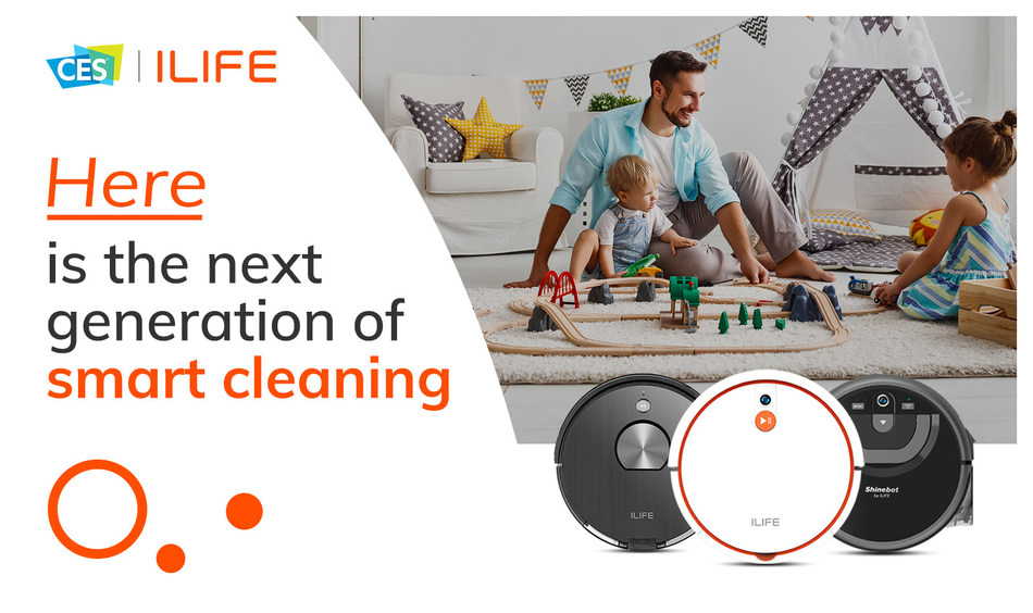 ILIFE releases new robotic vacuum at CES 2020