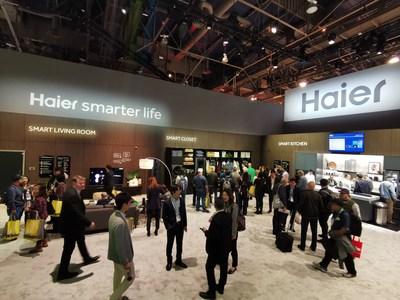 Haier define o future das casas inteligentes na CES 2020 (PRNewsfoto/Haier Smart Home)