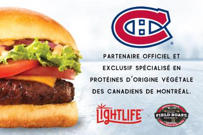 Aliments Greenleaf, EFS, devient le premier et le seul commanditaire spécialisé en protéines d'origine végétale des Canadiens de Montréal (Groupe CNW/Greenleaf Foods)