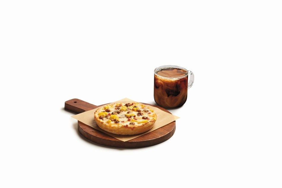 For people who love pizza for breakfast or breakfast anytime, 7-Eleven, Inc. has introduced a personal-size breakfast pizza, great as either a hearty snack or meal and available morning, noon and night. Hot and ready-to-eat, the portable breakfast pizza has a suggested retail price of $2 and is available at participating 7-Eleven® stores.