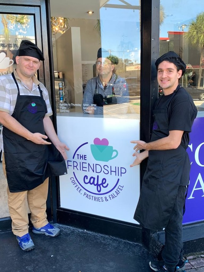 Friendship Café's Special Needs Employees