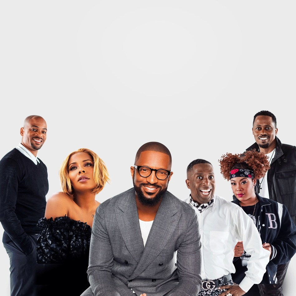 Cast of nationally syndicated Rickey Smiley Morning Show, airing weekdays from 6a-10a ET.
