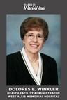 Dolores E. Winkler Recognized for Excellence in Health Care and Finance