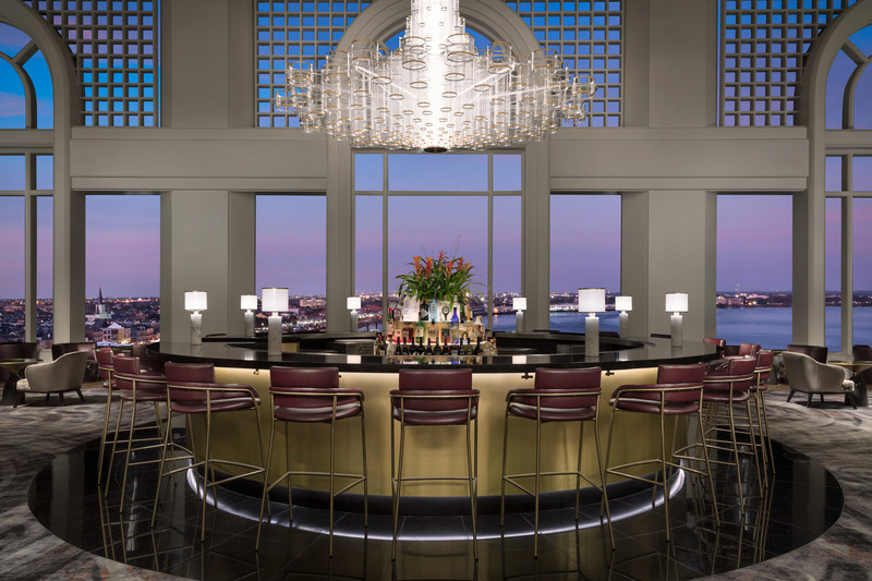 Observatory Eleven at sunset, courtesy of The Westin New Orleans
