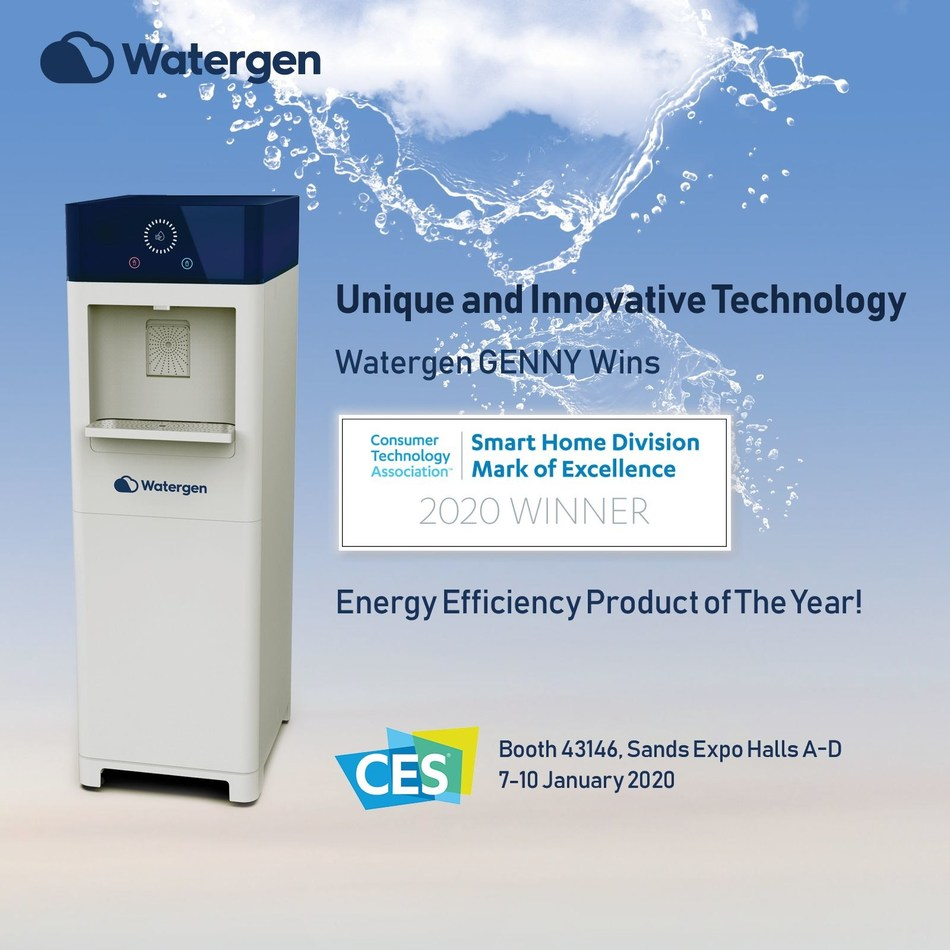 WATERGEN'S GENNY WINS 2020 CTA MARK OF EXCELLENCE AWARD