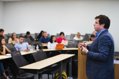In a matter of days, 70 undergraduate students at Rutgers Business School signed up for a class that would teach them how businesses are using blockchain.