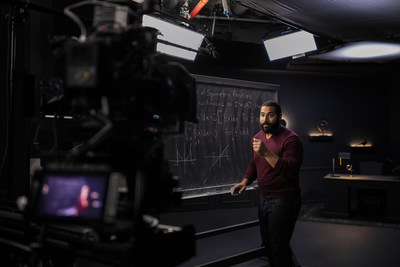 John Urschel, doctoral candidate in applied mathematics at the Massachusetts Institute of Technology and an instructor for Outlier.org's Calculus I course